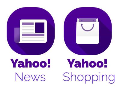 Yahoo! icons for 2014 v2 icon icons yahoo design iconography
