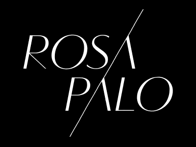 ROSA PALO Fashion Brand Monterrey Mexico/New York USA logo branding design