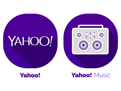 Yahoo! icons for 2014 icon icons yahoo design iconography