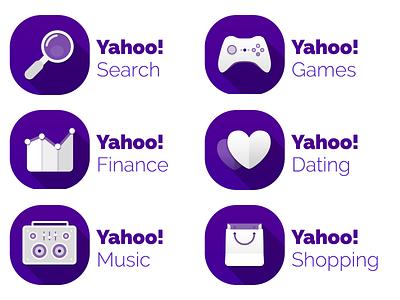 Yahoo Icons 2014 set2 yahoo icons icon iconography illustration