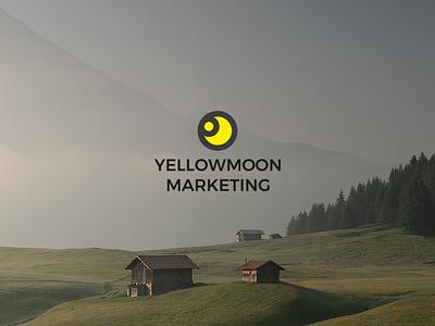 Yellowmoon Marketing Rebrand design logo branding