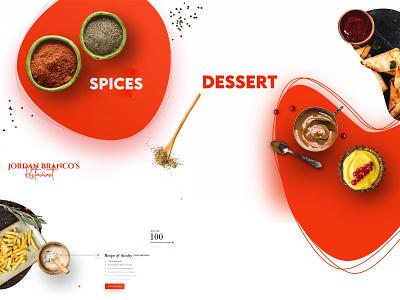 Jordon Branco Restaurant app ux ui illustration design branding art