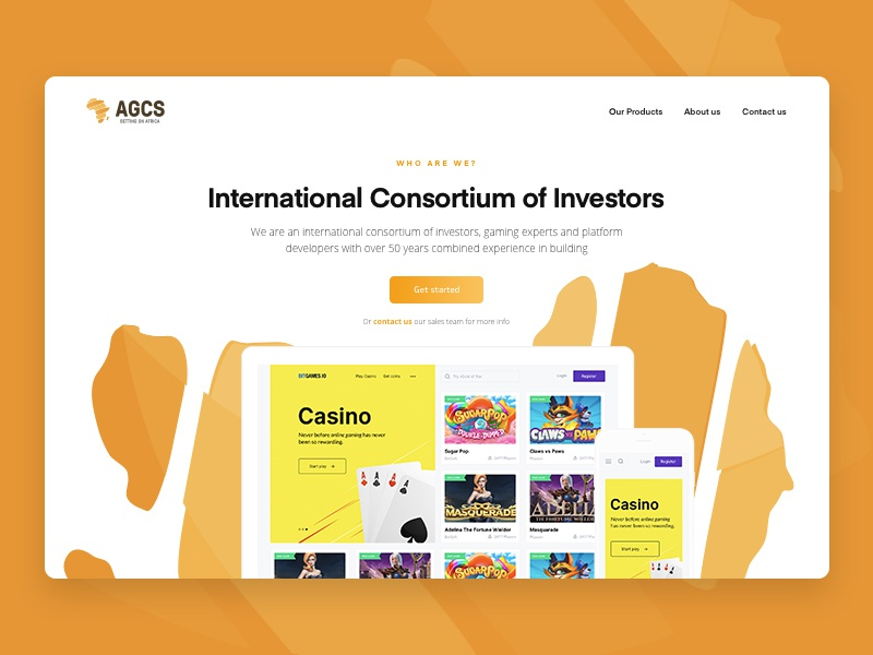 AGCS - Betting on Africa bet betting international africa investors partners game gambling casino developing consulting business