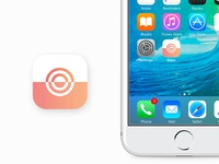 Alarm clock app icon - Daily UI 005