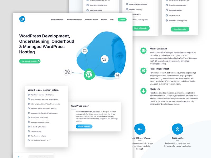 Redesign WPX visual identity ux ui logo design branding genesis genesis framework website wordpress