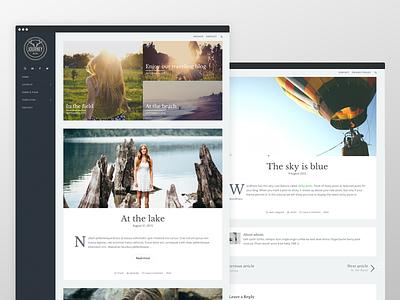 Journey - Genesis WordPress Theme responsive sidebar clean website blog wordpress genesis framework