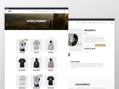 Forest  woocommerce responsive blog genesis framework website clean wordpress