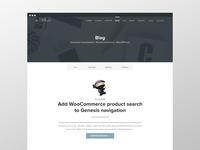 Wpstudio Blog page