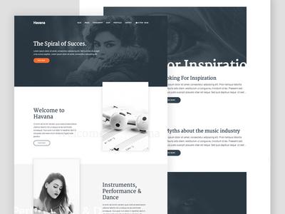 Havana - Portfolio theme wordpress website web design theme magazine genesiswp genesis content portfolio