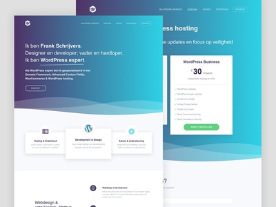 Home and price section genesiswp landing website genesis framework clean price section home