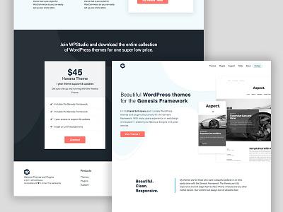 Wpstudio genesis branding web design wordpress theme website
