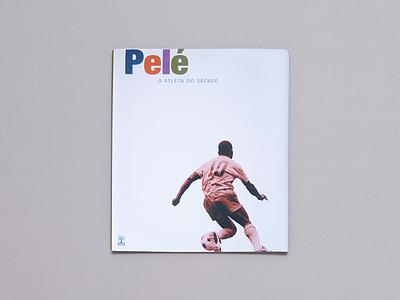 Book Design: Pelé – O Atleta do Século book design graphic design editora abril publishing design book