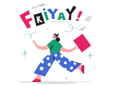 it's finally... friyay! weekend work office leaving office going home hop character women fashion women womens day friday friyay