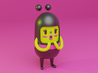Consumer Candy Game Jolt 3D Model animation branding 3d