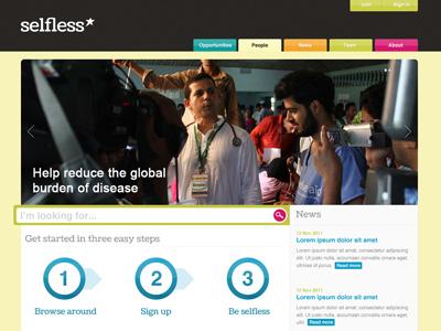 Selfless website