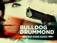 Bulldog drummond poster small