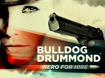 Bulldog Drummond Movie Poster poster