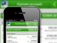 Lloyds TSB banking app