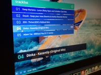 PS app Screen preview ui screen interface flat