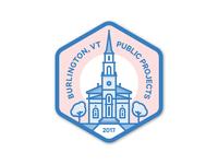 Burlington, VT Sticker