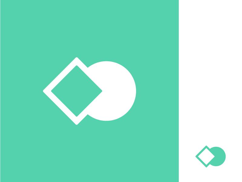 Teenage Misfits Slack Icon geometric circle hole peg square misfit branding logo