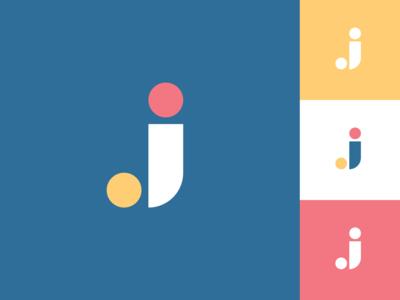 Geometric J Logo