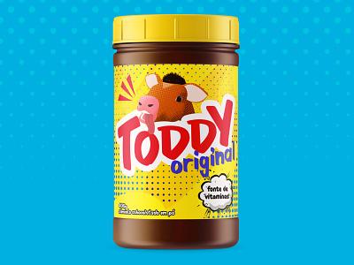 Toddy Redesign logo branding brand identity chocolate milk redesign brand