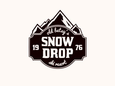 Day 8 - Ski Mountain Logo