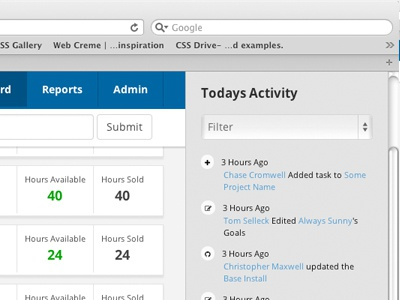 Project Management II ui dashboard thug life localhost pet project