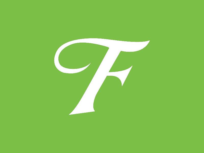 Logo F partial type