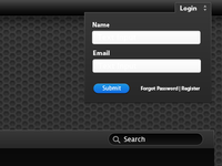 OPG Login Form