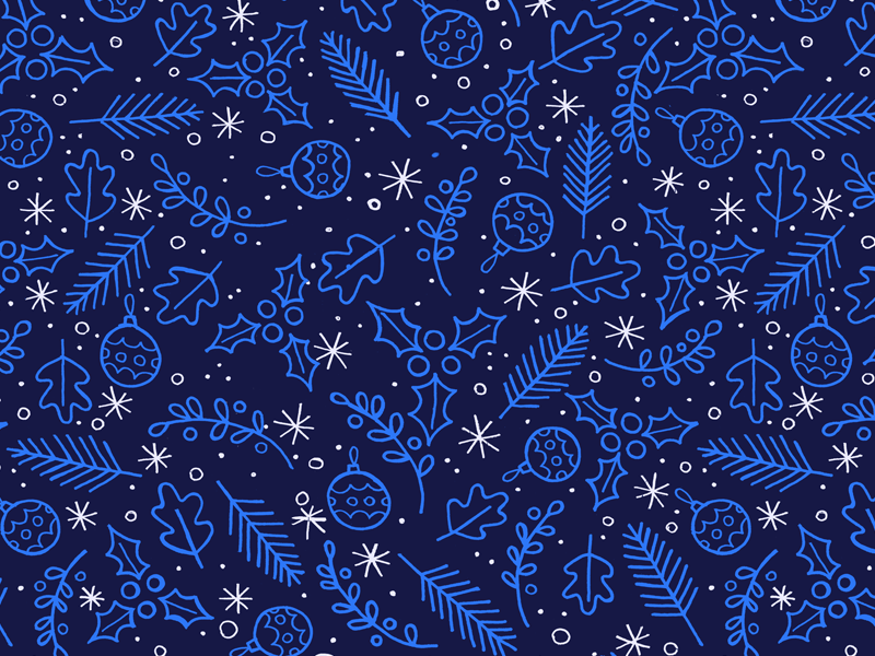 Festive Wallpaper festive christmas happy holidays bauble holly free wallpaper ios fern leaf pattern