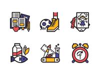 TIME Magazine Education Icons