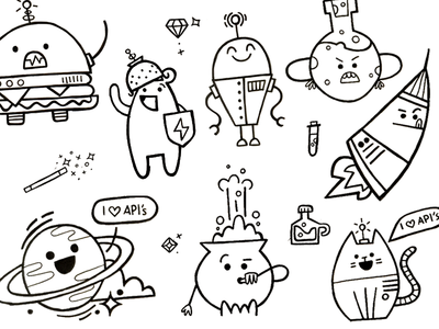 Character sketch town! by Laura Bohill - Dribbble