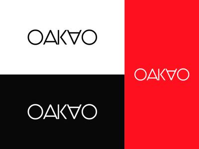 OAKAO Logo Branding - Fashion Brand Wordmark