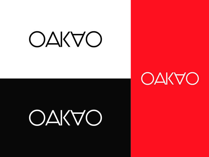 OAKAO Logo Branding - Fashion Brand Wordmark