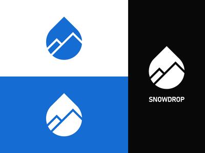 Snowdrop Logo Branding