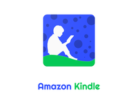 Amazon Kindle Redesigned Material Design Icon