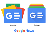 Upcoming Google News Icon Redesign