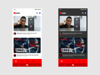 YouTube Android Concept