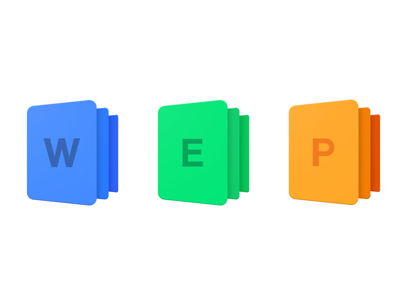 Microsoft Office Icons Redesign by Sajid Shaik on Dribbble