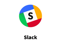 Slack Material Design Icon