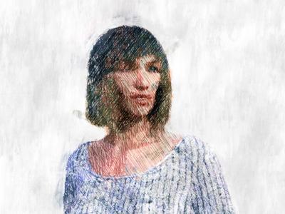 Woman Illustration 03