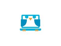 Baby Owl Laptop