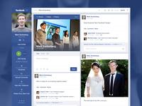 Facebook Timeline Concept