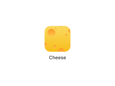 Cheese App Icon