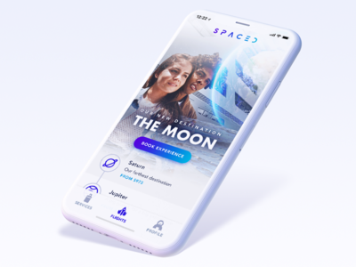 SPACED - App Concept ux ui challenge spaced iphone iphone x ios spacedchallenge
