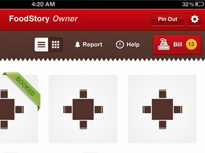 Restaurant iPad App