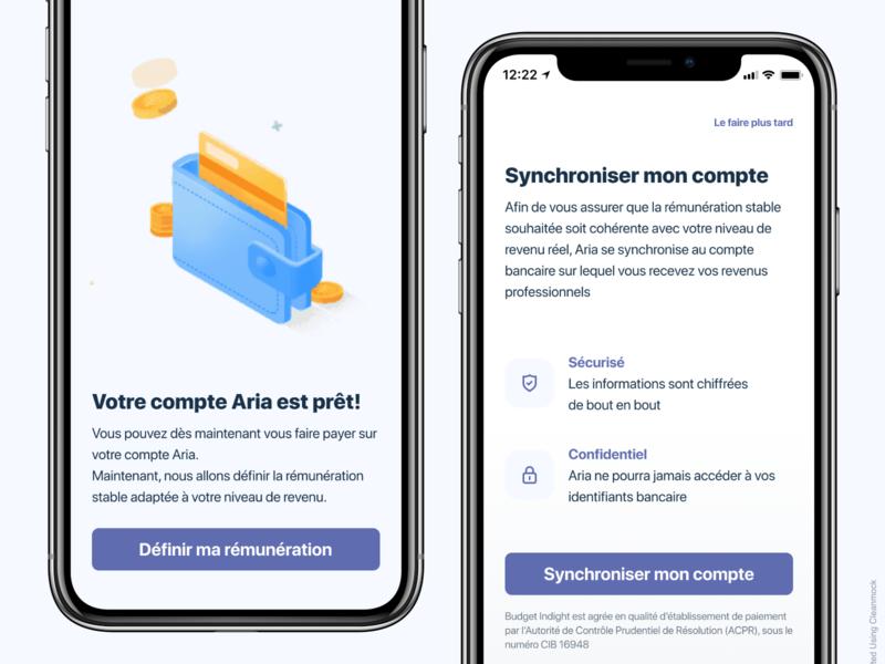 Bank app Design - Aria