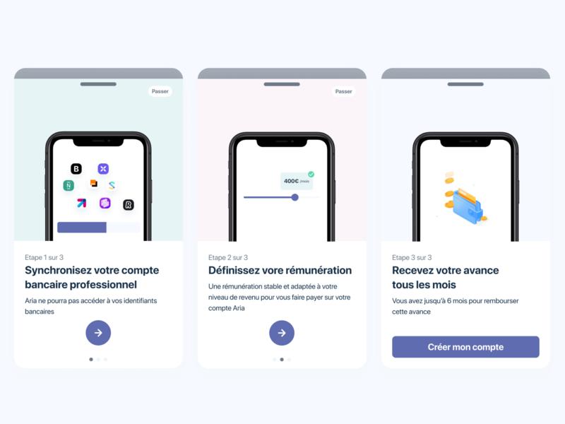 Banking app - Oboarding